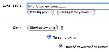 GoView - wyświetlanie
