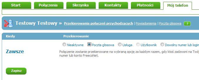 Rejestracja Freeconet